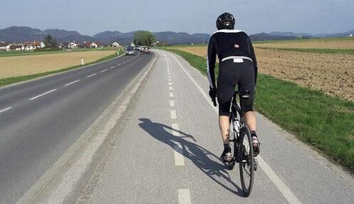 nova kolesarska steza